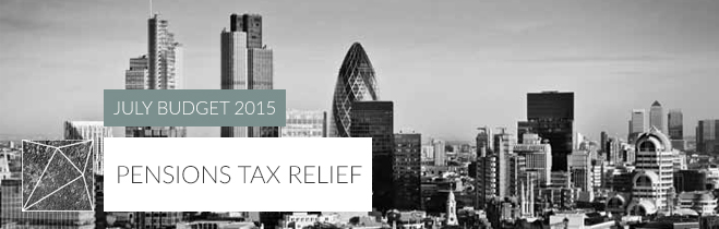 Pensions tax relief